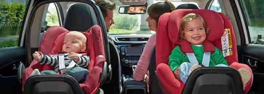 『子どもを早く前向きのチャイルドシートに座らせてあげたい』・・・実はそれ、危険なんです!